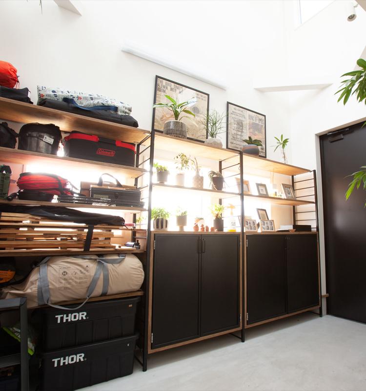 写真:リビング向け家具:テレビボード・ローテーブル・スツール・シェルフ 棚