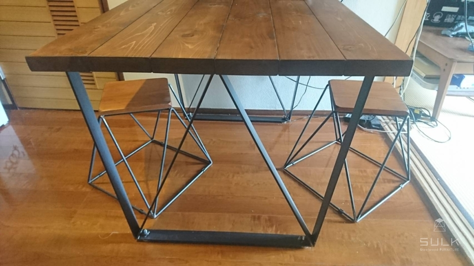 写真:東京都杉並区 I様邸 GL W-frame TABLE他