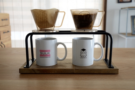 写真:COFFEE DRIPPER STAND – double