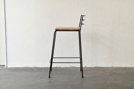写真:ROUND BAR HIGH CHAIR