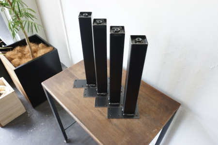 写真:STEEL TABLE PARTS set – square pipe □50 L380