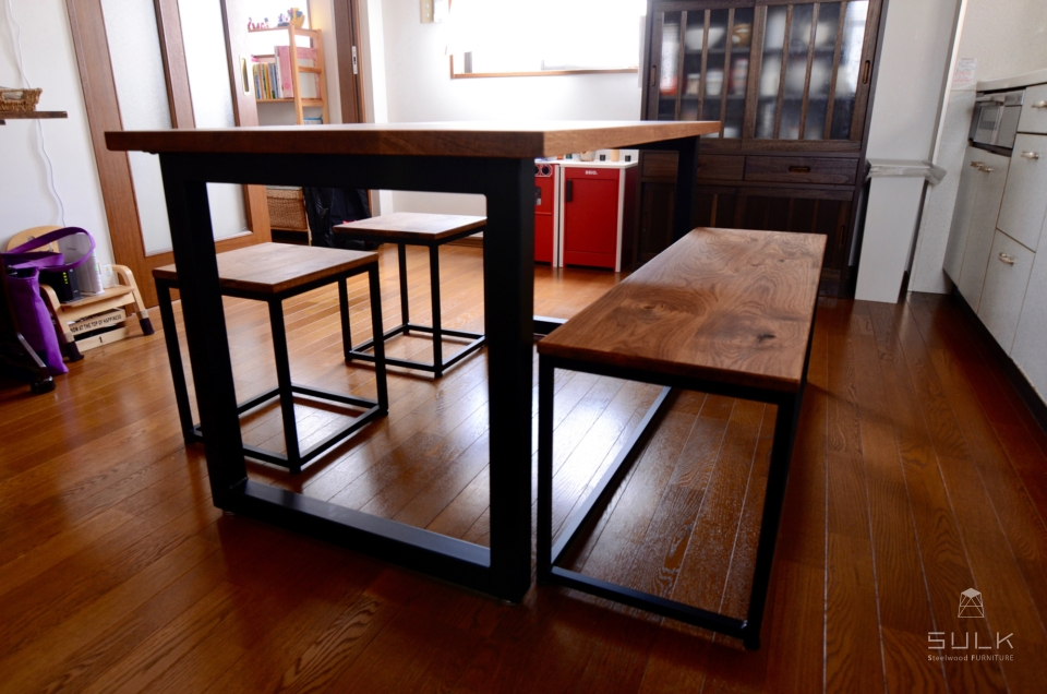 写真:大阪府堺市中区 T様邸 テーブルセット