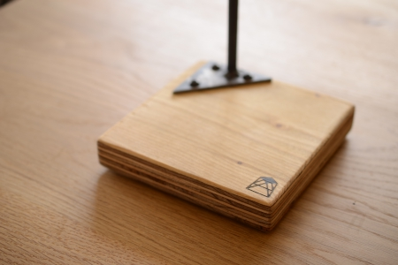 写真:COFFEE DRIPPER STAND – single / clear×larch