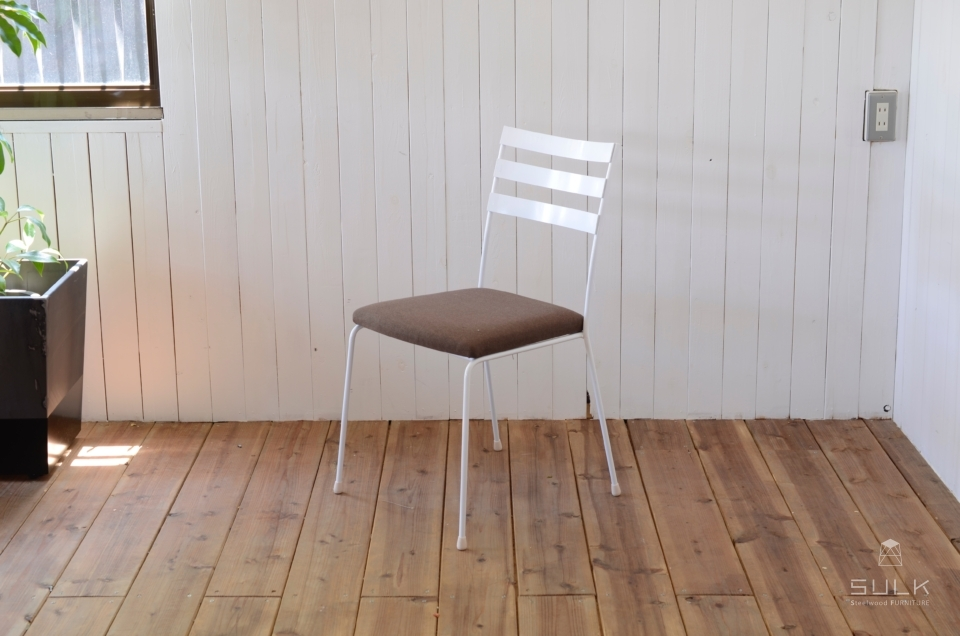 写真:STEEL CHAIR – Fabric Seat