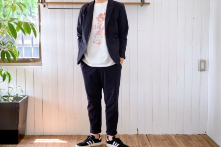 写真:SULK × silsil collaboration T-shirt