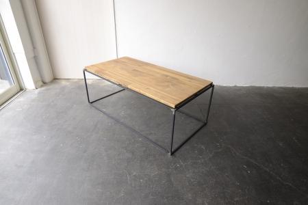 写真:PINE LOW TABLE – square bar type