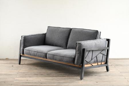 写真:SULKSOFA – spider web # 1( fabric seat / 2seater )※組立費用込み