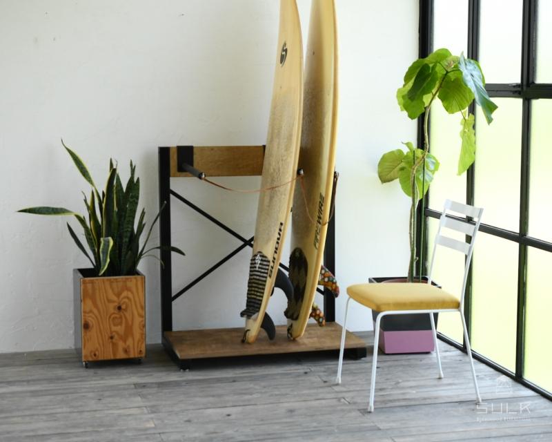 写真:SURFBOARD RACK (フックあり)