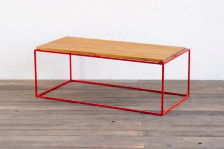 写真:W920 TETRAGON TABLE – PINE