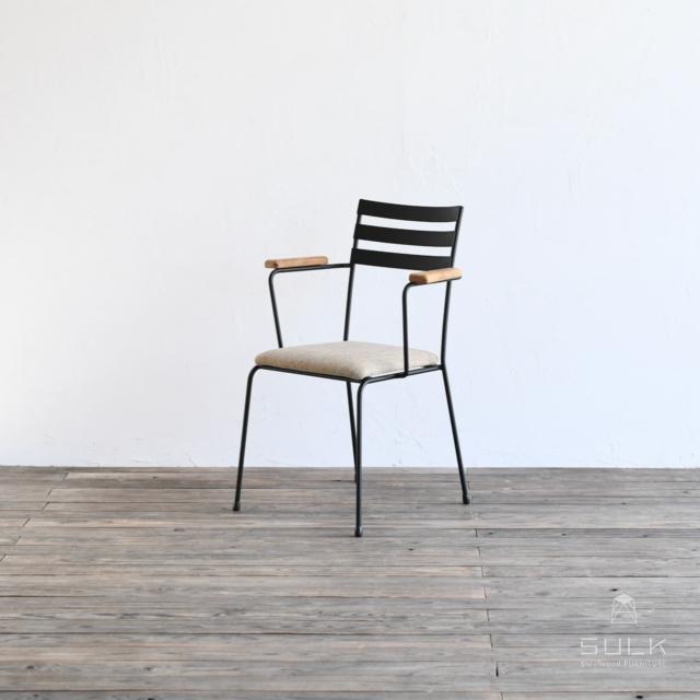 写真:BASIC ARMCHAIR – Fabric Seat