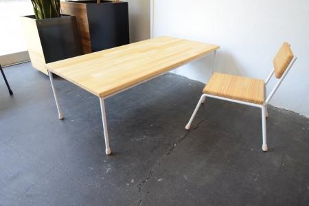 写真:LOW TABLE – round bar type