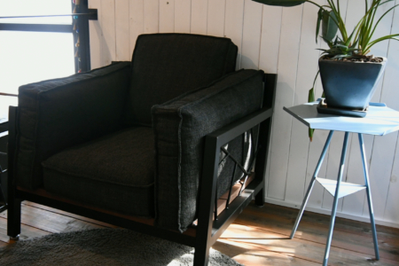 写真:SULKSOFA – spider web # 1( fabric seat / 1seater )