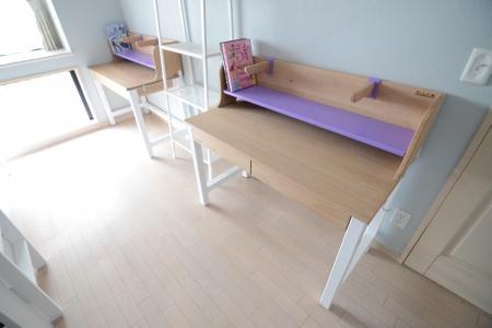 写真:東京都江東区 M様邸 オーク・オーダー学習机