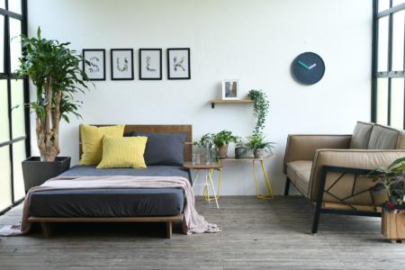 写真:RAFT BED – wide double
