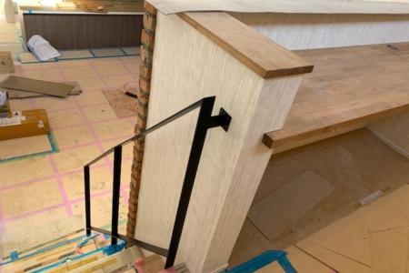 写真:大阪府和泉市 H様邸 階段手摺