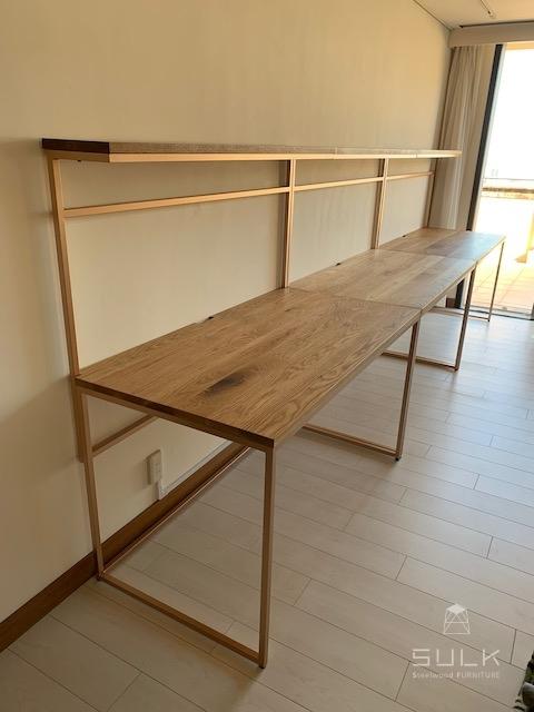 写真:兵庫県芦屋市 T様邸 ワークテーブル