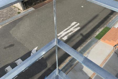 写真:大阪府茨木市 A様邸 ベランダ柵