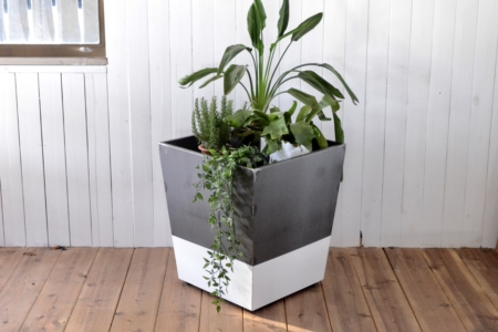 写真:BICOLOR POT COVER – large