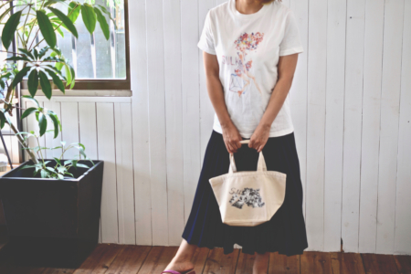 写真:SULK × silsil collaboration  Tote bag – Small