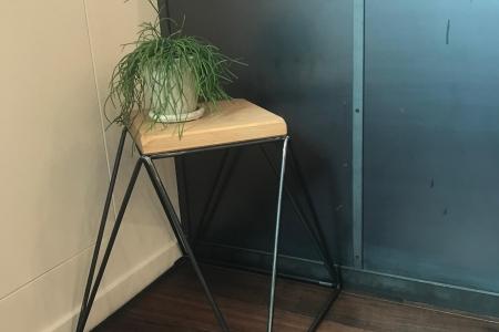 写真:大阪府大阪市 美容室 LI-TO hair/make様 Pyramid stool